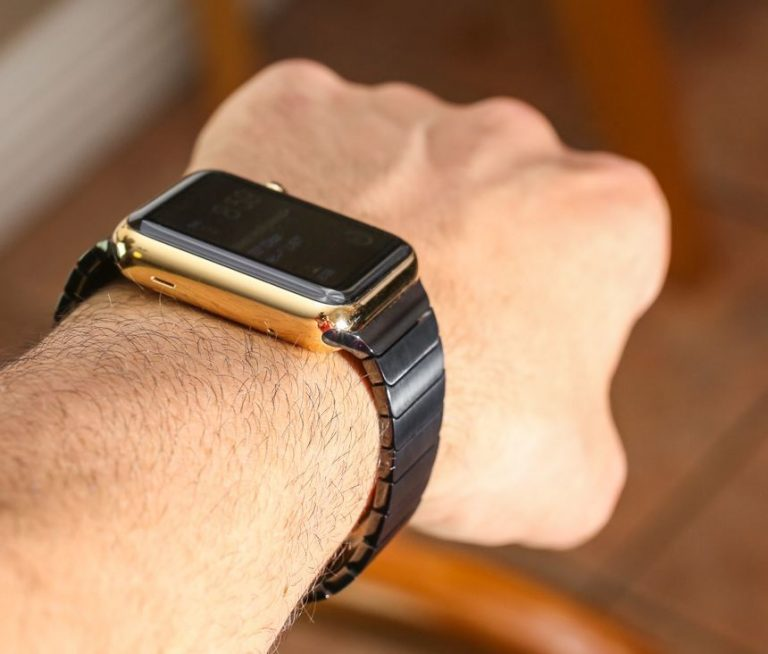 This replica of the link bracelet for Apple Watch is not only the same, but costs 10 times less