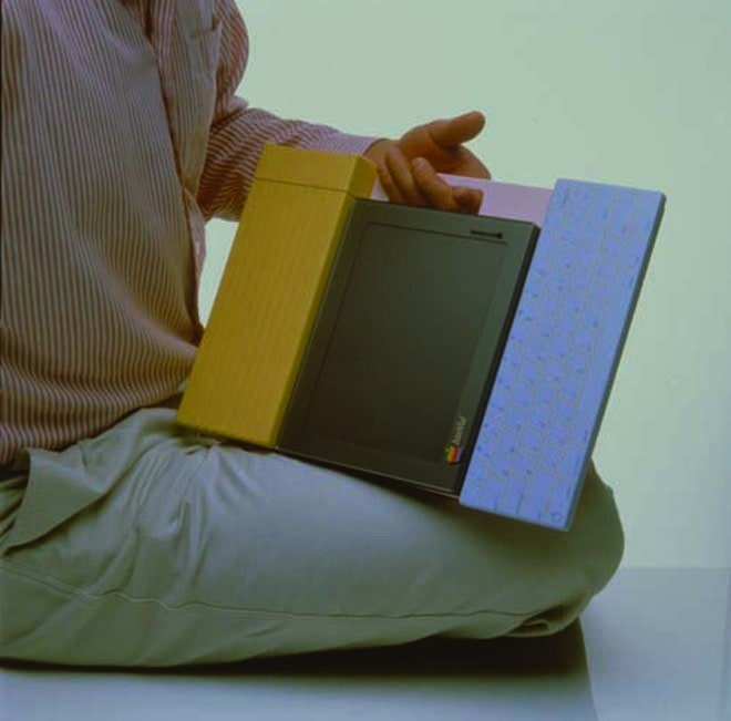 This was one of the first tablet prototypes designed for Apple… 20 years ago
