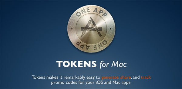 Tokens, manage the promotional codes you send to test your applications