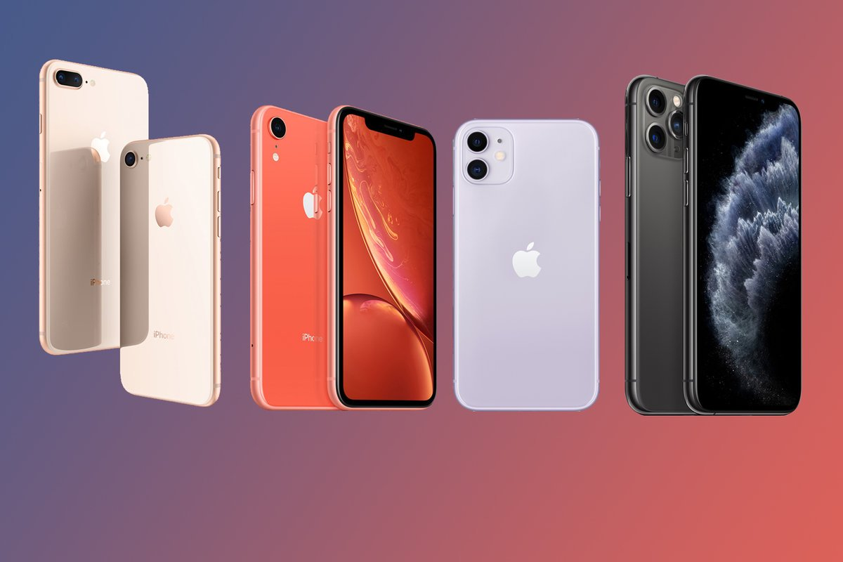 upcoming release of the iPhone 11 models