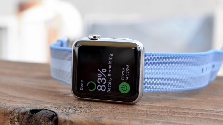 Using Battery Saver Mode on the Apple Watch