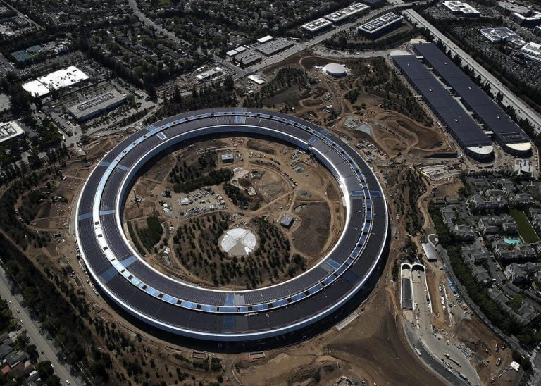Want to see how the work on the next Apple campus is going? Here are some aerial photos