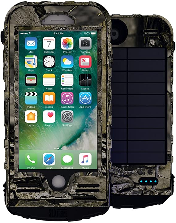 water, dust and extra battery protection integrated