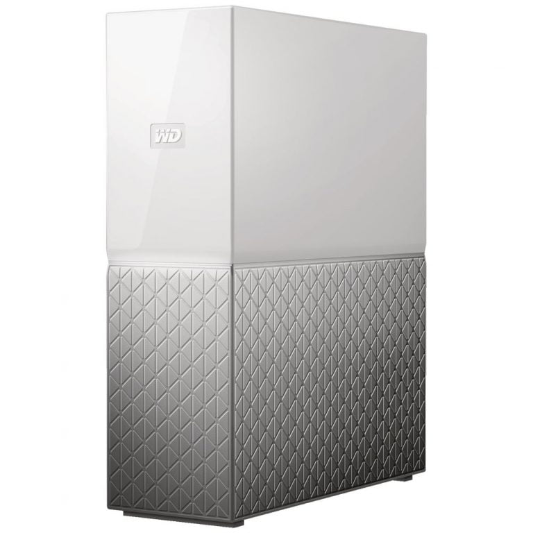 WD My Cloud Home 6TB WhiteSilver Hard Drive – Network Storage