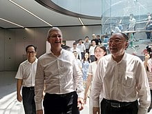 """""""We had a very good quarter, but not for Wall Street"""": Tim Cook"""