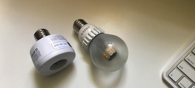 we tested the lamp holder with HomeKit by Koogeek