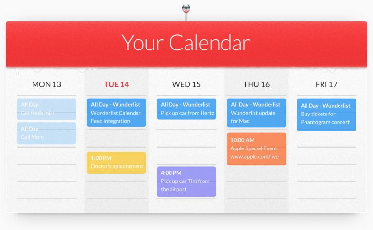 what Wunderlist for iOS will see this 2015