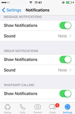 WhatsApp for iPhone now allows you to play voice messages from notifications