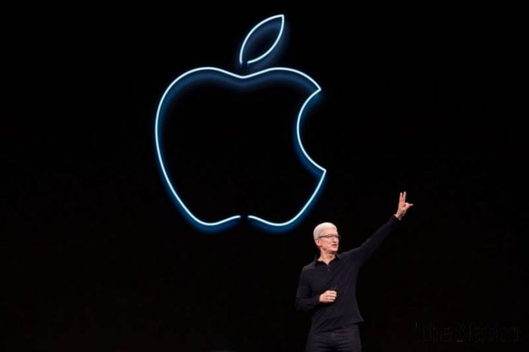 Why is it important that Apple has broken the record for market capitalization?