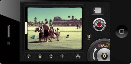With the 8mm iPhone app you can record the retro videos you always wanted