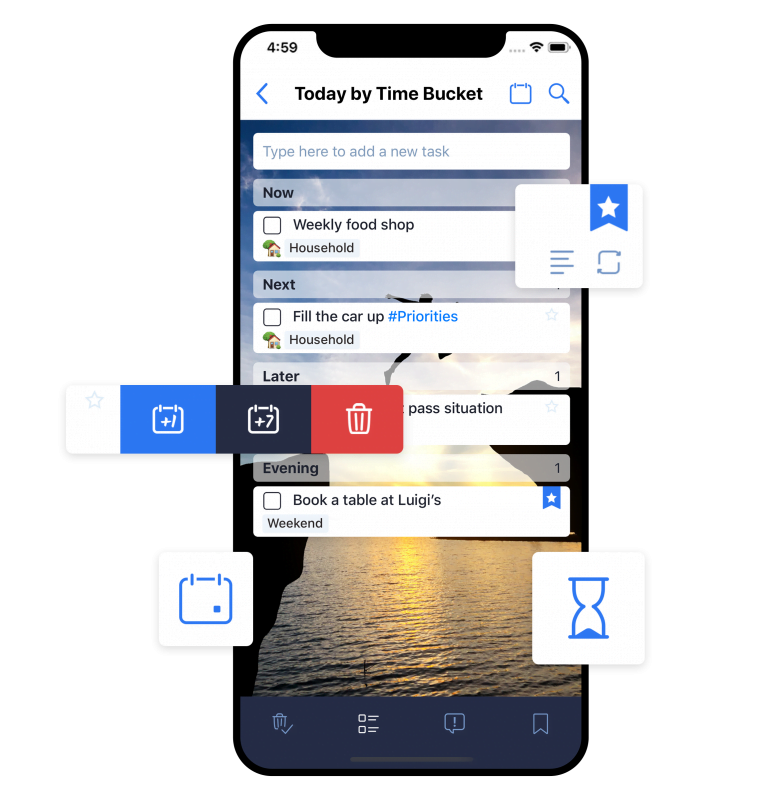 Wunderlist, manage your task lists from any device