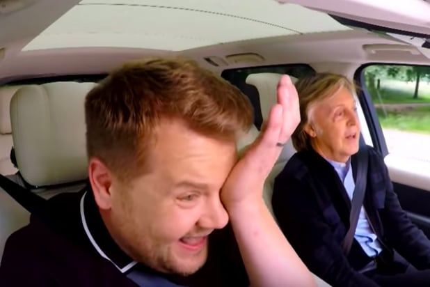 You can now watch the first episode of Apple's original first series, Carpool Karaoke