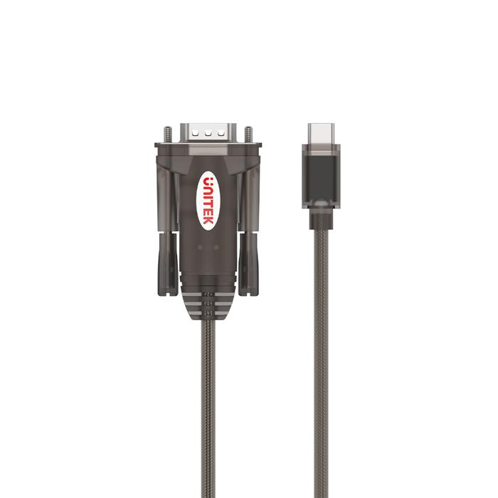 your serial cable is Lightning to USB-C