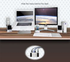 ZenDock, tidy up and make it easy to connect your devices to your MacBook Pro