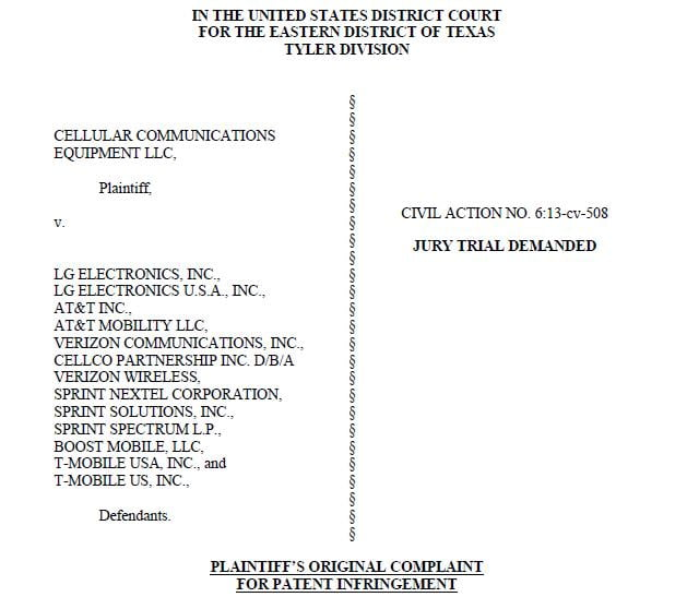 Apple counters Nokia by accusing it of infringing 13 patents