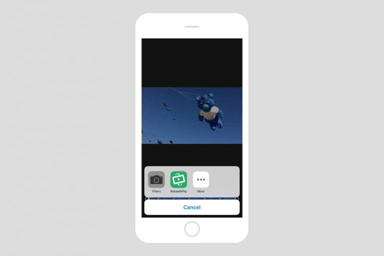 How to easily rotate a photo video on your iPhone or iPad if it's recorded incorrectly